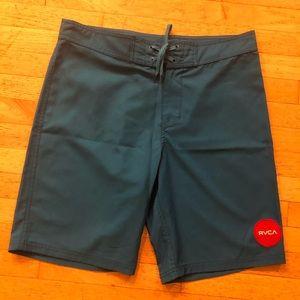RVCA Men's Blue Board Shorts